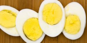 الفوائد الصحية لتناول البيض المسلوق