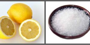 استخدامات ملح الليمون المختلفة