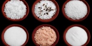 أنواع الملح المختلفة