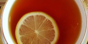 فوائد الشاى بالليمون فى انقاص الوزن