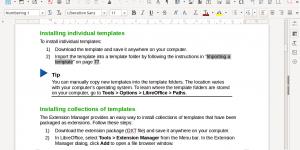افضل بديل للاوفيس مجاني LibreOffice